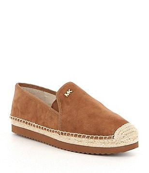 MICHAEL Michael Kors Hastings Suede Slip-On Espadrilles