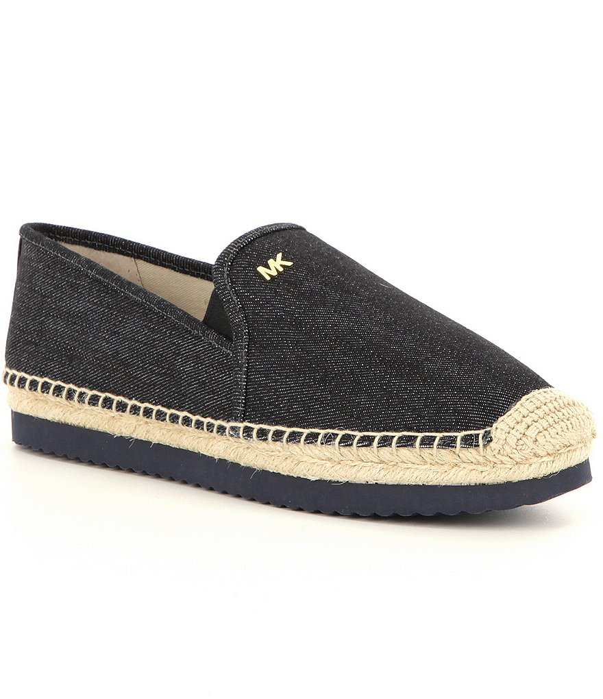 michael michael kors hastings denim slip on espadrilles dillards. Black Bedroom Furniture Sets. Home Design Ideas