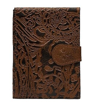 Patricia Nash Burnished Tooled Lace Collection Passport Case