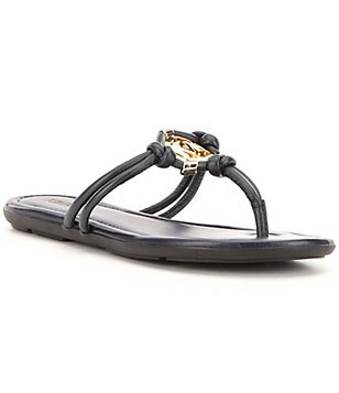 MICHAEL Michael Kors Kinley Leather Thong Sandals