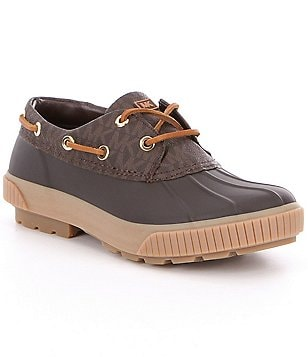 MICHAEL Michael Kors Hyde Rubber Lace-Up Waterproof Duck Shoes