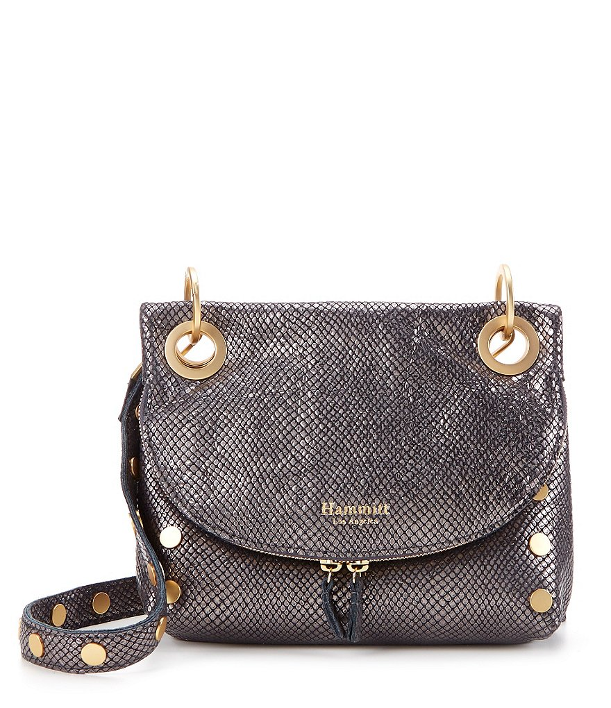 Hammitt Corey Metallic Saddle Bag