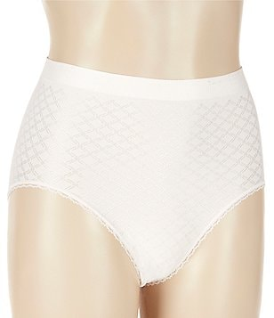 Modern Movement Fishnet Jacquard Brief Panty