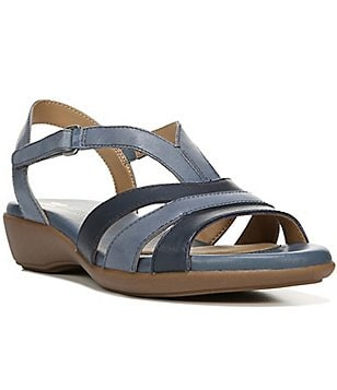 Naturalizer Neina Leather T-Strap Banded Sandal