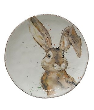 Southern Living Easter Tuft Bunny Salad Plate