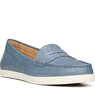 Naturalizer Gwen Perforated Leather Slip-On Moccasin