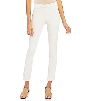 Eileen Fisher Slim Trouser with Back Slit