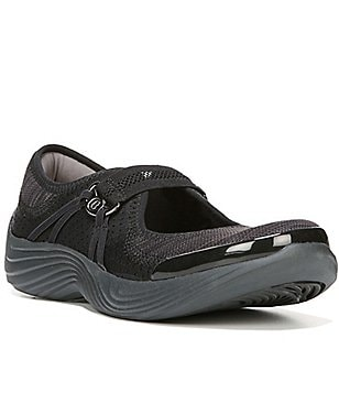 Bzees Tempo Stretch Fabric Slip-On Mary Janes