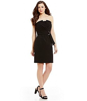 Antonio Melani Kemper Strapless Stretch Twill Dress