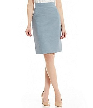 Antonio Melani Denzel Stretch Melange Pencil Skirt