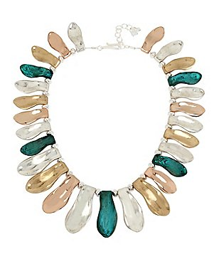 Robert Lee Morris Soho Sculptural Petal Collar Necklace