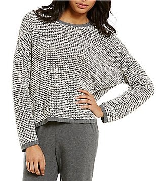 Eileen Fisher Round Neck Sweater Top