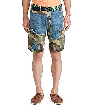 Polo Ralph Lauren Relaxed-Fit Patchwork Shorts