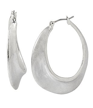 Robert Lee Morris Soho Sculptural Hoop Earrings