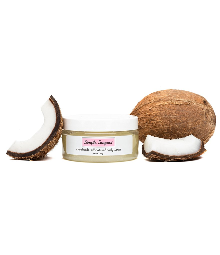 Simple Sugars Coconut Body Scrub with Emu Oil