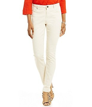 Tru Luxe Jeans Perforated Skinny Jeans