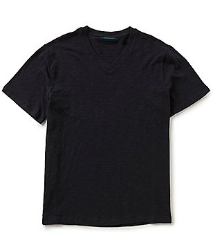 Perry Ellis Space Dye V-Neck Short-Sleeve Tee
