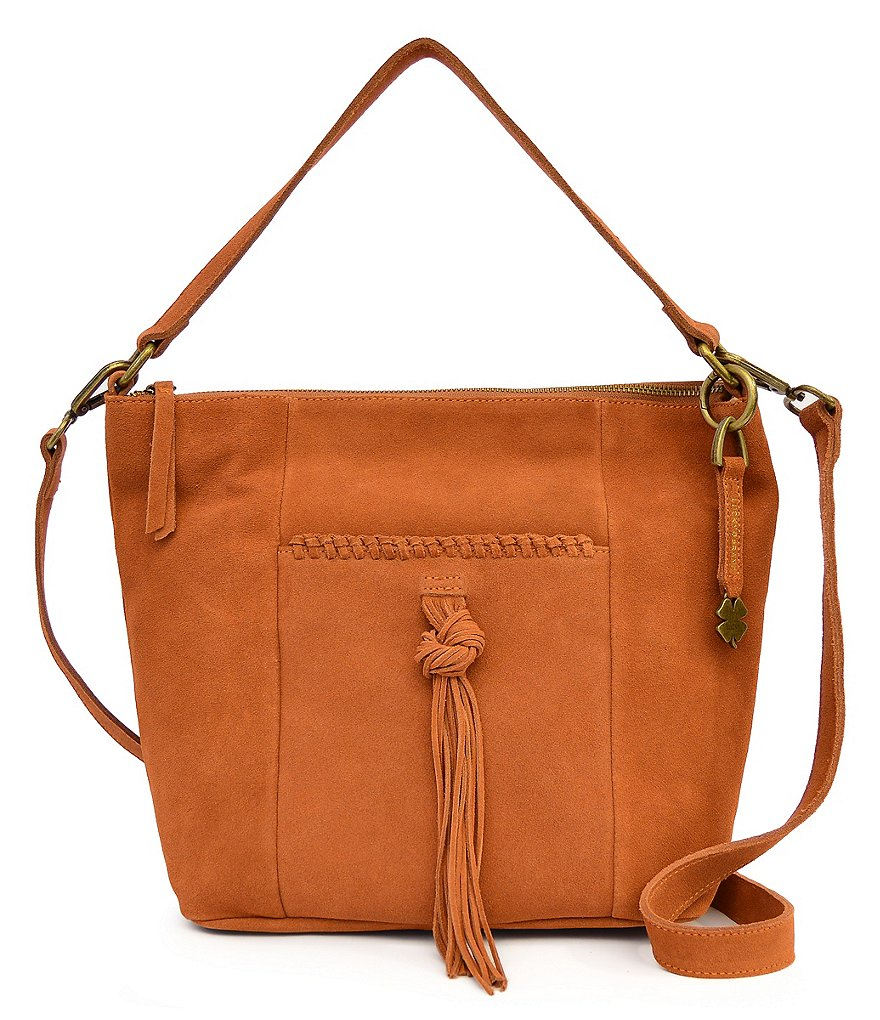 Lucky Brand Carmen Tasseled Bucket Bag