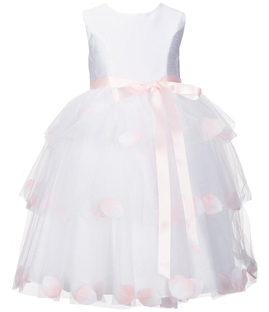 White Flower Girl Dresses 6x 43