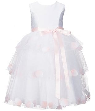 Marmellata Big Girls 7-16 Floral-Tiered Flower Girl Dress