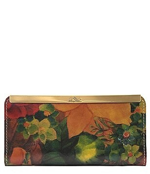 Patricia Nash Heritage Print Collection Tulli Wallet