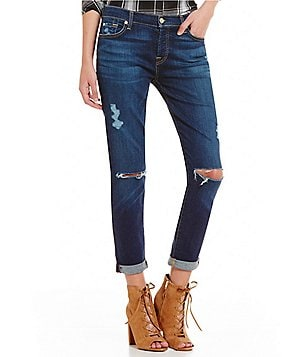 7 for All Mankind Josefina Relaxed Boyfriend Jeans