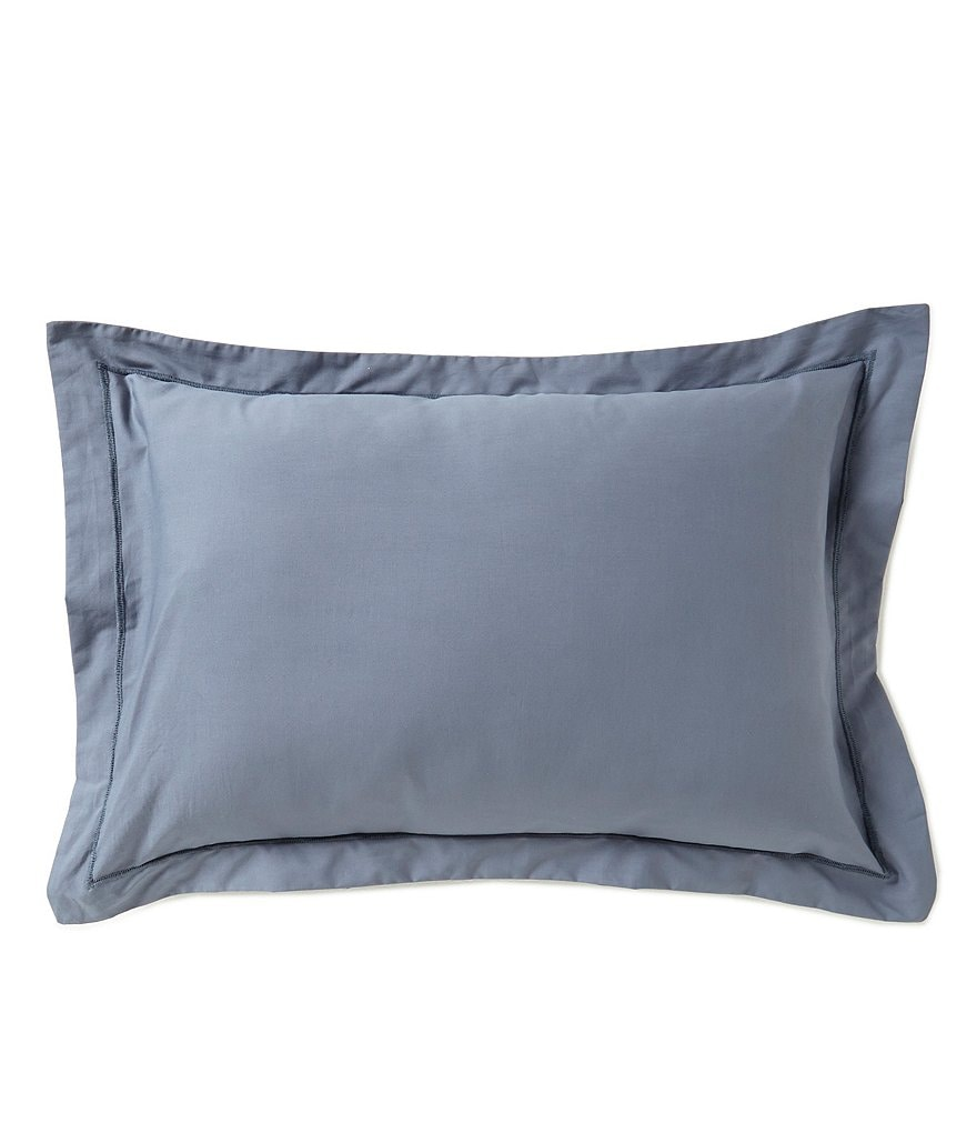 Moderne by Noble Excellence Soho Embroidered Percale Breakfast Pillow