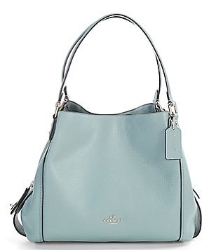 coach poppy purse outlet isqr  COACH EDIE 31 POLISHED PEBBLE SHOULDER BAG