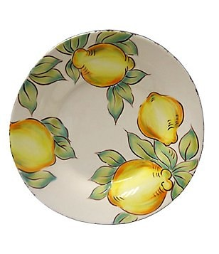 Artimino Lemon Stoneware Accent Salad Plate