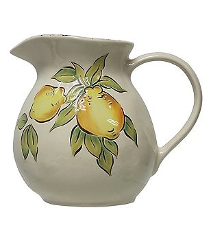 Artimino Lemon Stoneware Pitcher