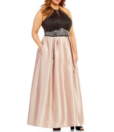 plus size dress 26 expandable baton