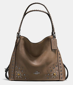 COACH WESTERN RIVETS EDIE 31 SHOULDER BAG