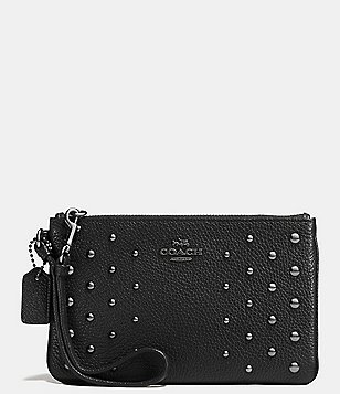 COACH OMBRE RIVETS SMALL WRISTLET