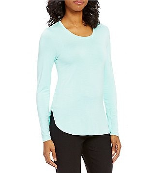 ZOZO March Stretch Knit Jersey Long Sleeve Top