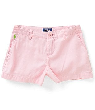 Ralph Lauren Childrenswear Big Girls 7-16 Chino Shorts