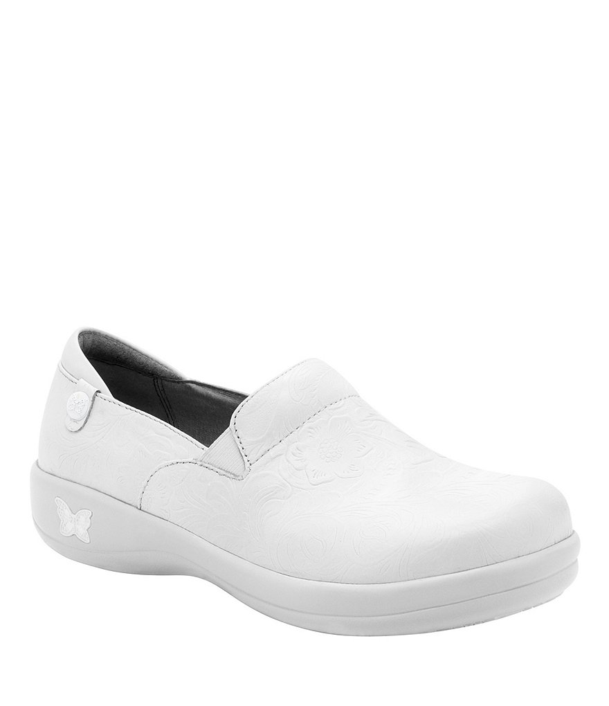 Alegria Keli Leather Slip-On Non-Slip Clogs