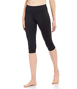 Half Moon by Modern Movement Active Ruched Capri Leggings