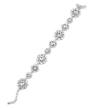 kate spade new york Crystal Lace Line Bracelet