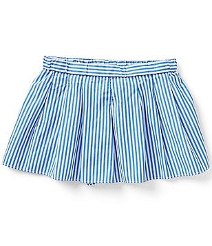 Ralph Lauren Childrenswear Big Girls 7-16 Bengal-Stripe Skort