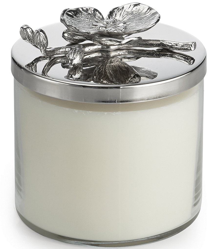 Michael Aram White Orchid Decorative Jar Candle