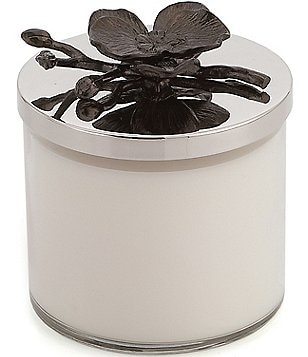 Michael Aram Black Orchid Decorative Jar Candle