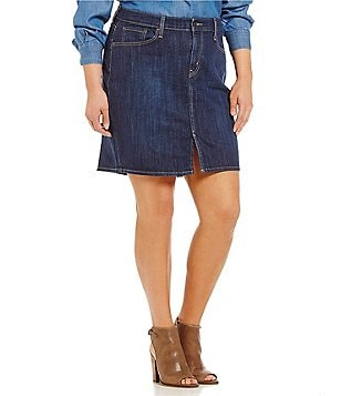 Levi´s Plus Icon Denim A-Line Skirt