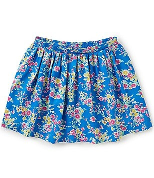 Ralph Lauren Childrenswear Little Girls 2T-6X Floral-Print Skirt