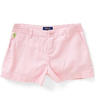 Ralph Lauren Childrenswear Little Girls 2T-6X Chino Shorts