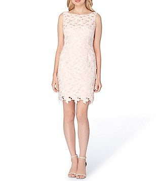 Tahari ASL Petite Lace Sheath Dress