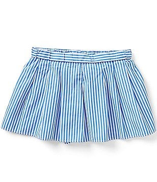 Ralph Lauren Childrenswear Little Girls 2T-6X Bengal-Stripe Skort