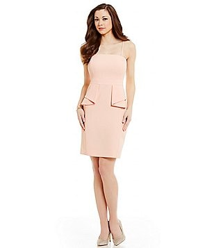 Antonio Melani Noah Strapless Solid Stretch Crepe Dress