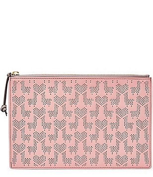 Fossil Llama Perforated RFID Large Pouch