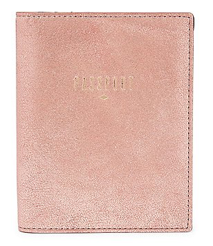 Fossil Metallic RFID Passport Case