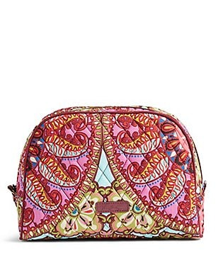 Vera Bradley Large Zip Cosmetic Bag